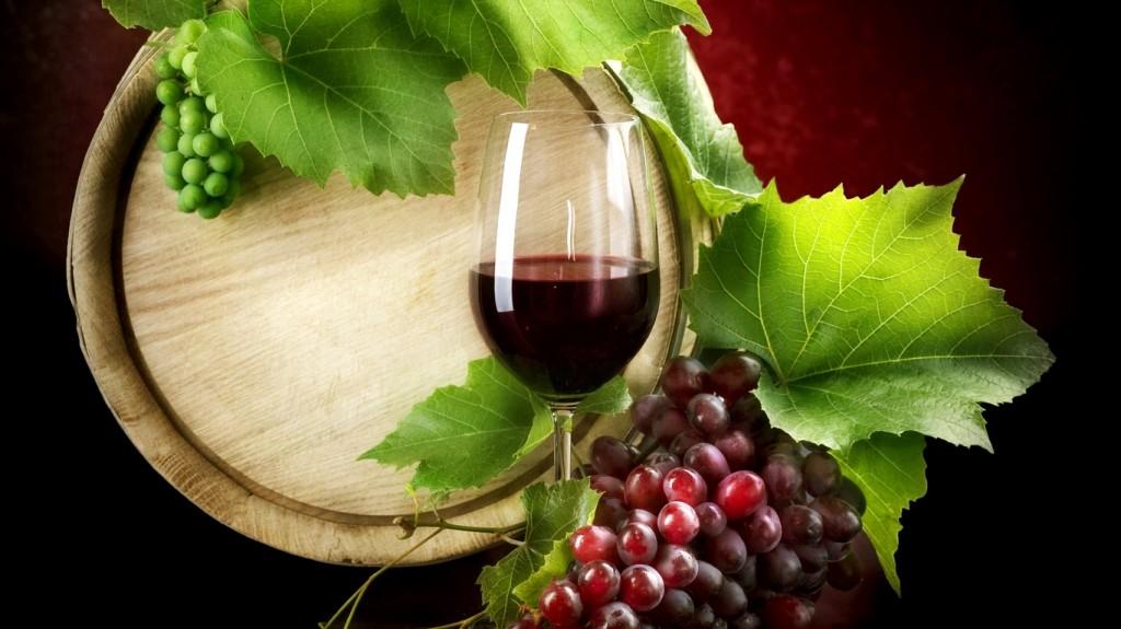 szőlő bor