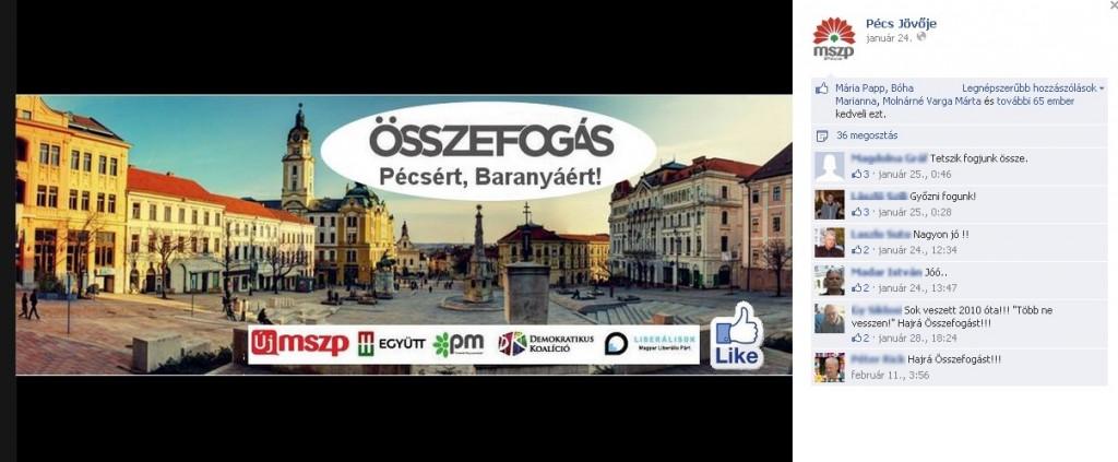 Összefogás Pécsért...? - Kőváriék szerint megtévesztik a választókat