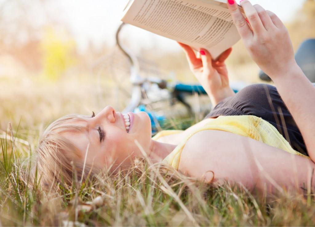 olvas, könyv, nő