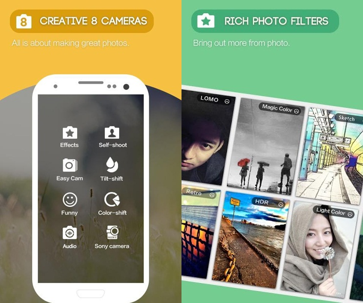 camera360 app fénykép