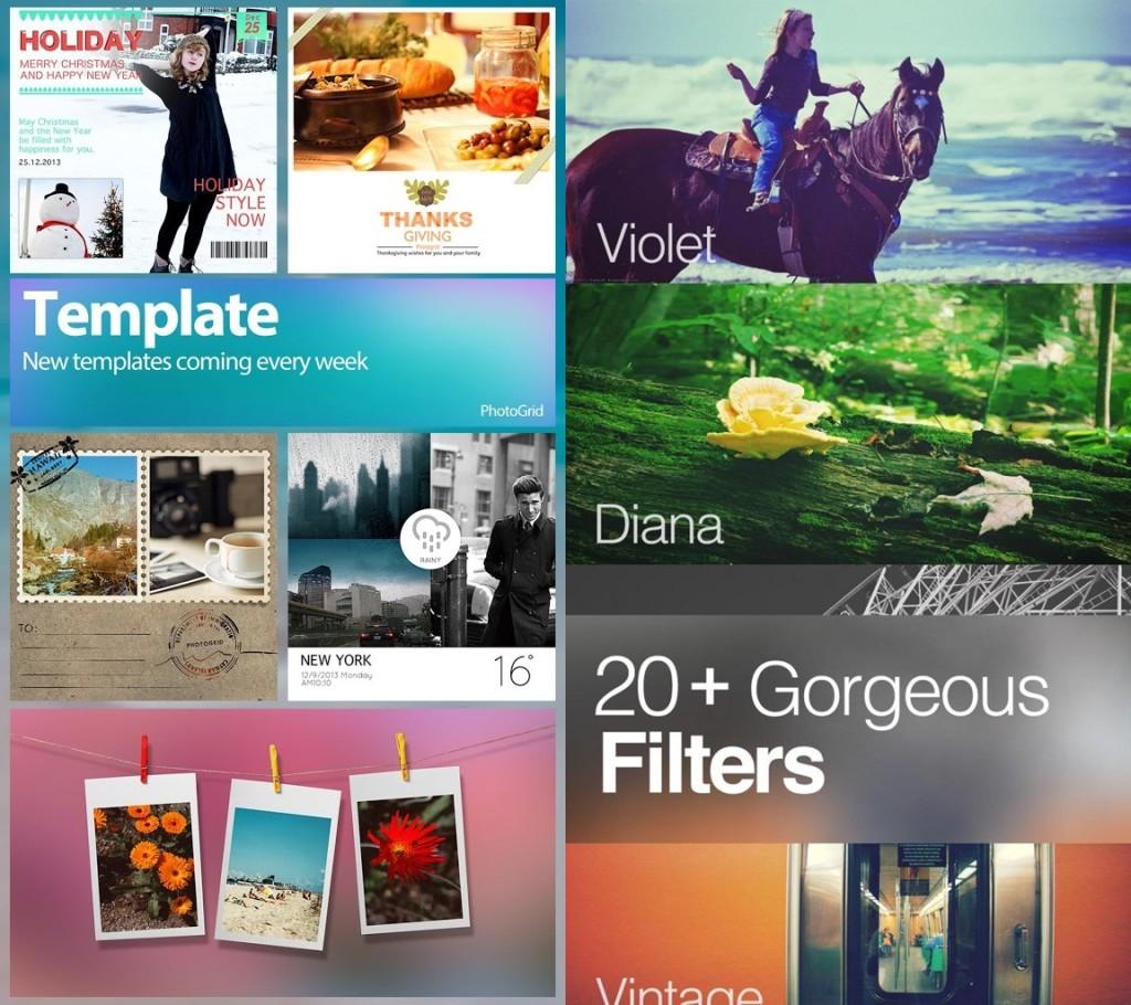 photo grid app fénykép