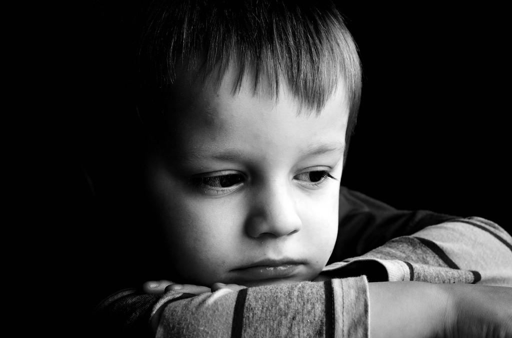 szomorú gyerek