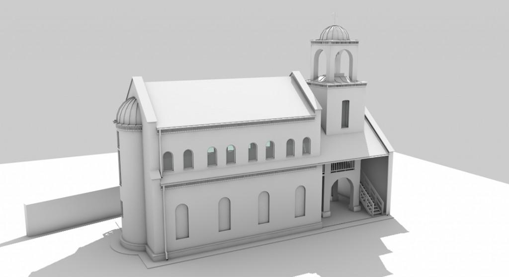 Így fog kinézni az új kápolna és harangtorony