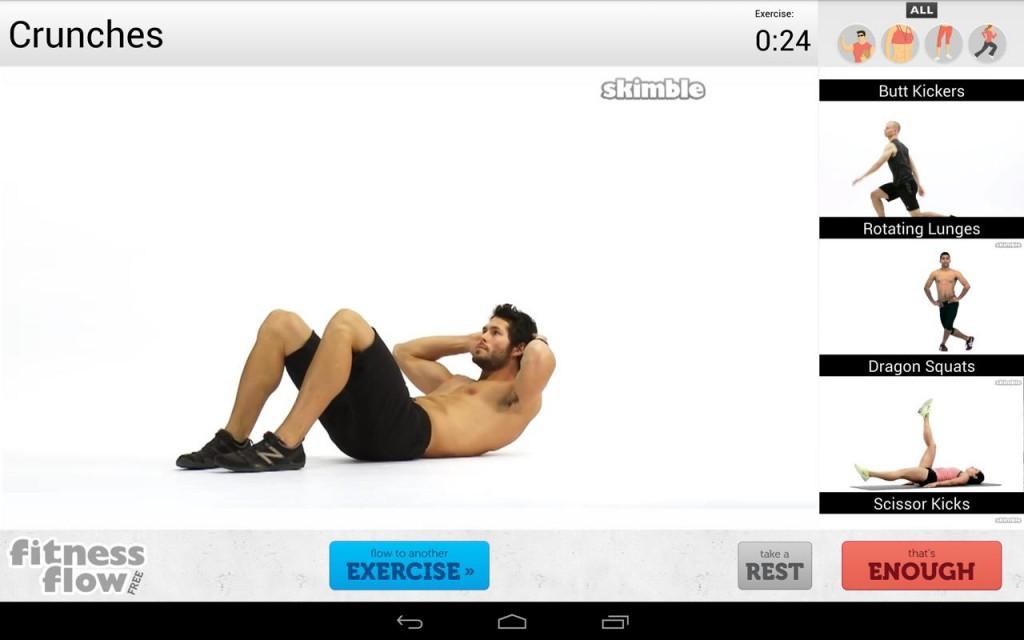 fitness flow, app, alkalmazás