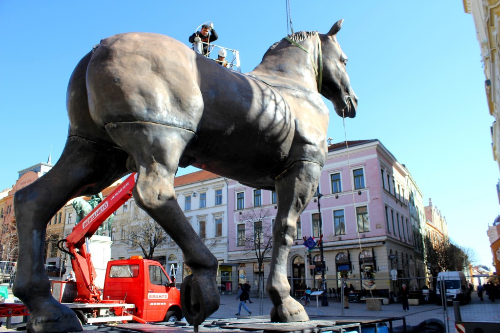 Sforza ló, kolosszus 011