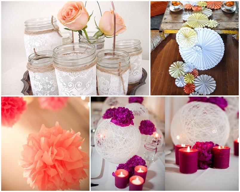 asztali dísz esküvő
