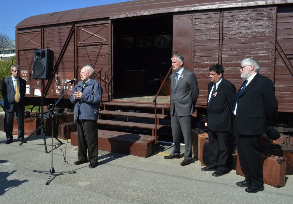 holokauszt vagon kiállítás1