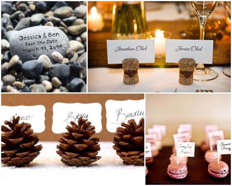 névkártya esküvő