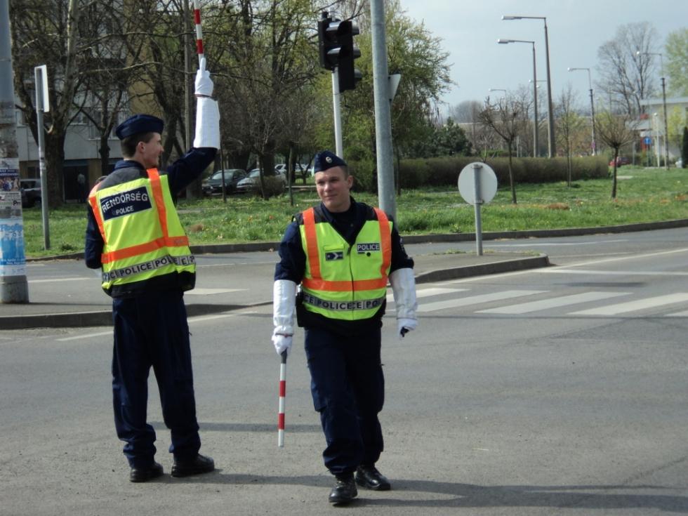 rendőr verseny