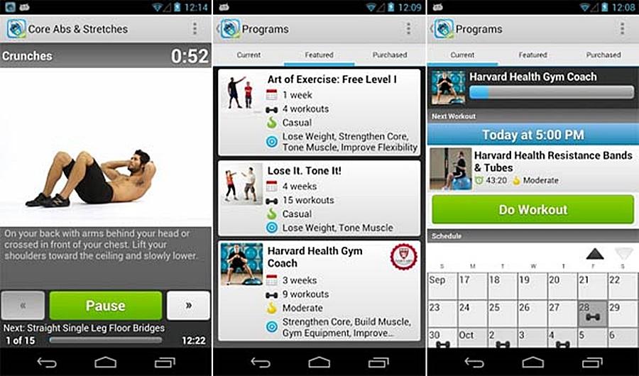 workoutt, app, alkalmazás