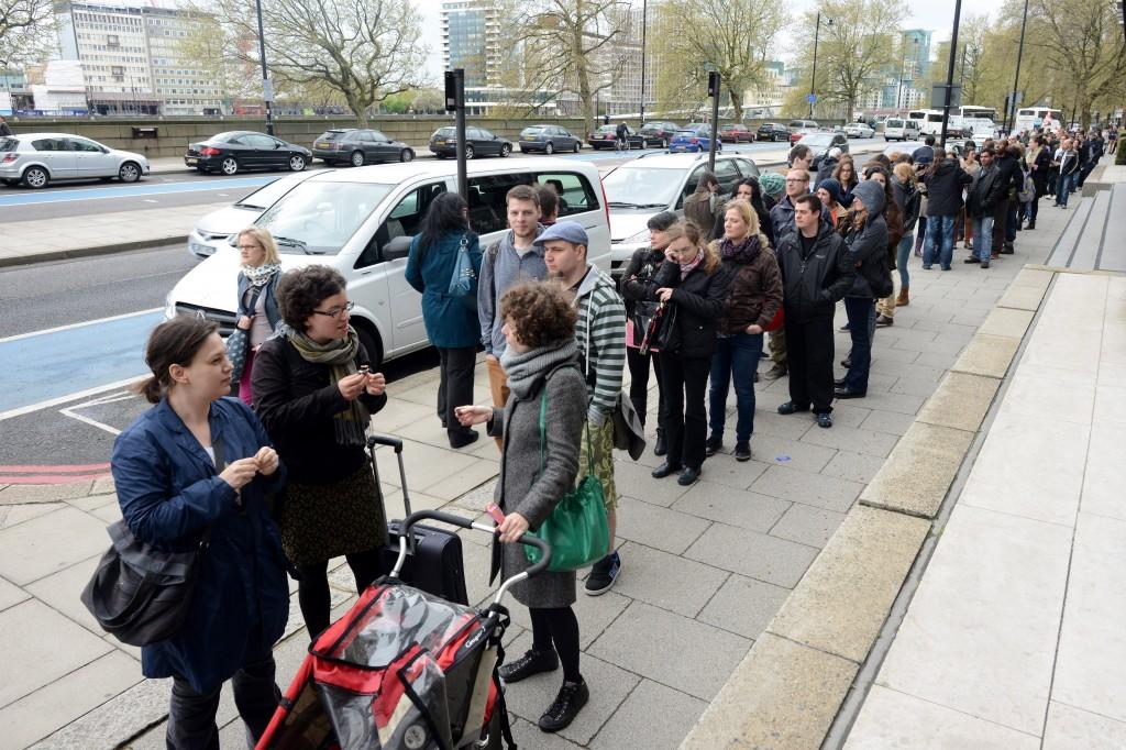 Szavazás Londonban