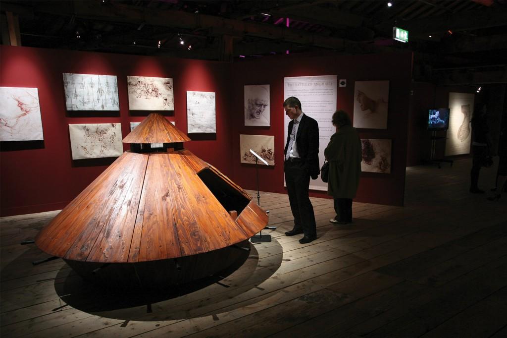 Leonardo-kiállítás