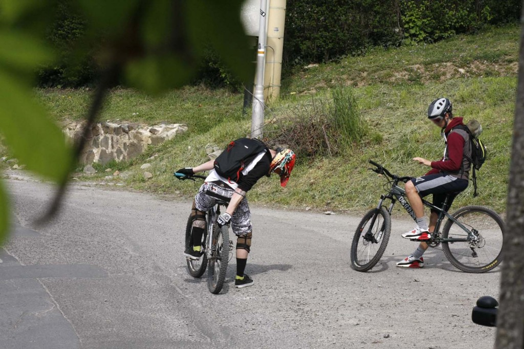 Terepbicikli, bringa, downhill (6)