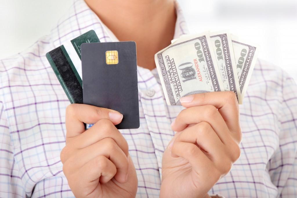 bankkártya készpénz