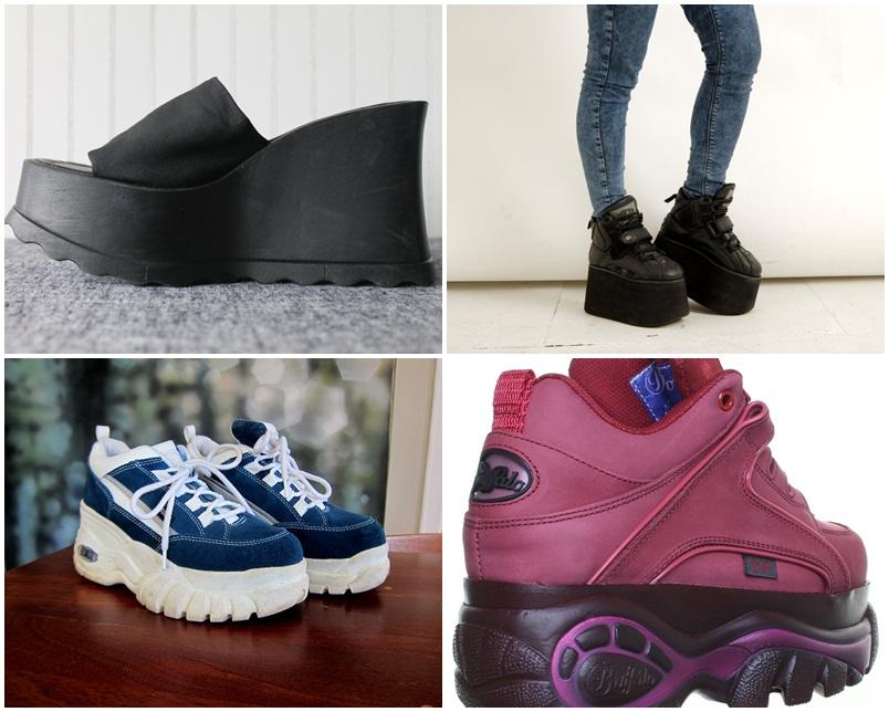 90es évek cipő