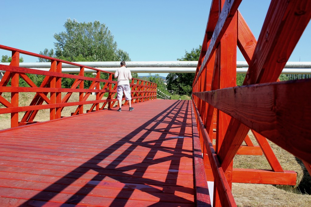 Biciklis híd1