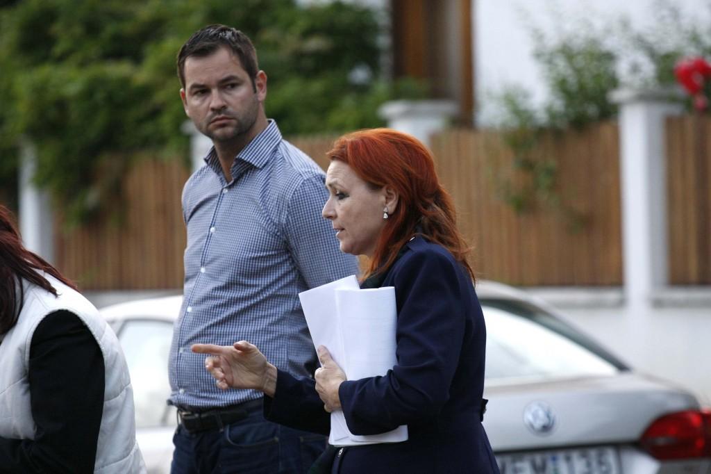Palotai Gabriella bírónő és a sértettet képviselő ügyvéd