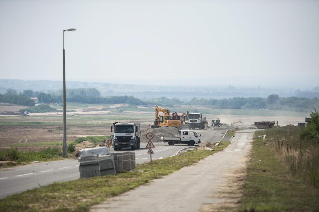 Folytatódik az M60-as autópálya építése Pécsnél