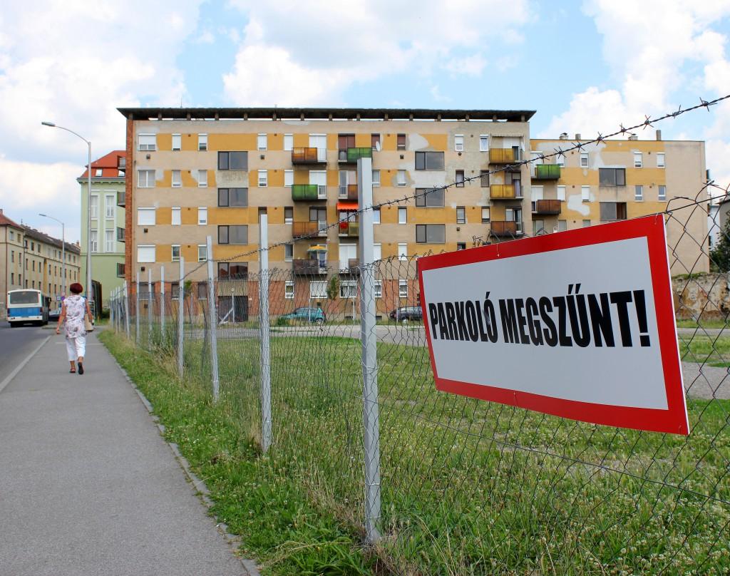 Az Alsómalom utcánál bezártak, de nem az önkormányzat miatt