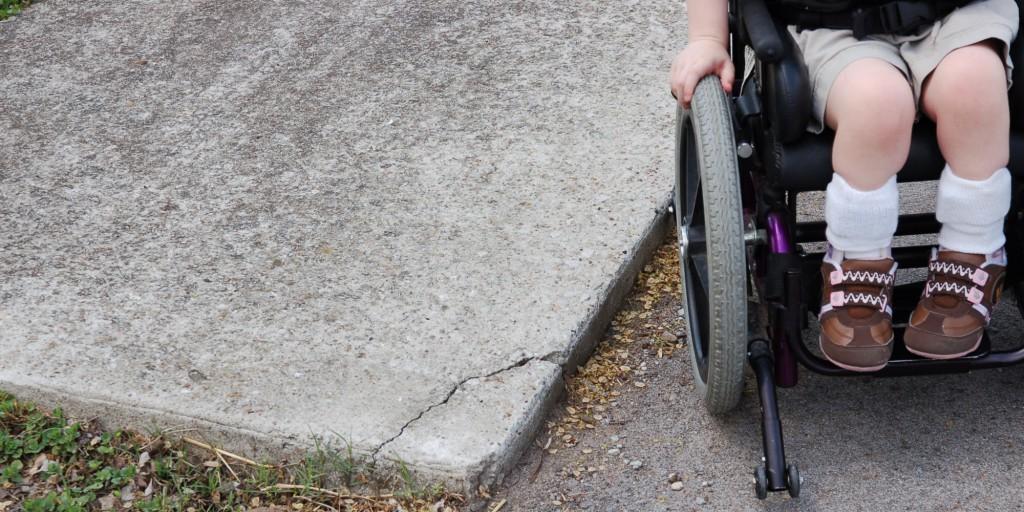 fogyatékos, gyerek, tolószék
