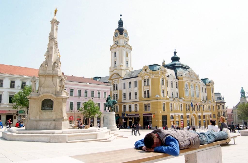 hajléktalan, Pécs1