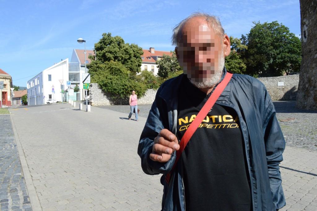 hajléktalan, Pécs3