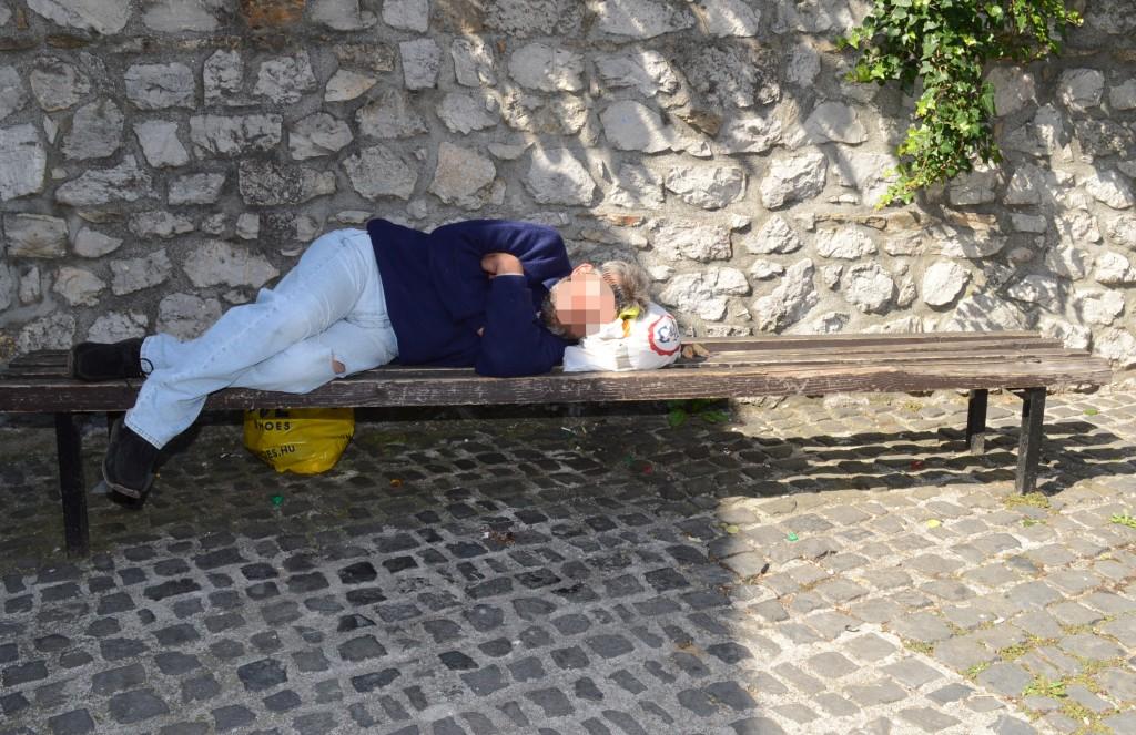 hajléktalan, Pécs4