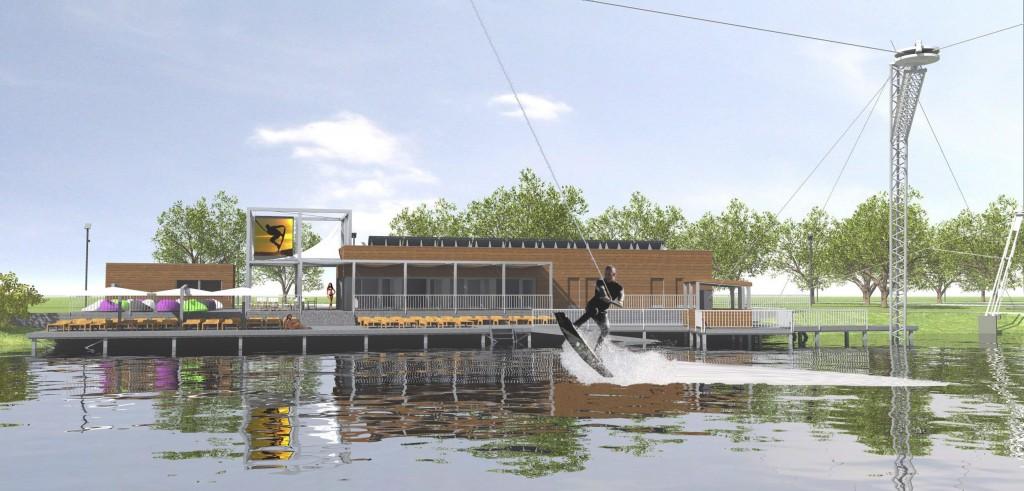 Pécs új szabadidõparkja épül a Tüskésréten