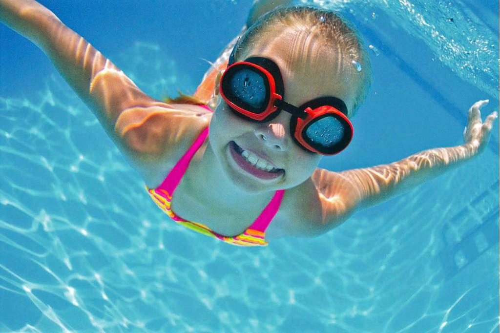 úszás, gyerek