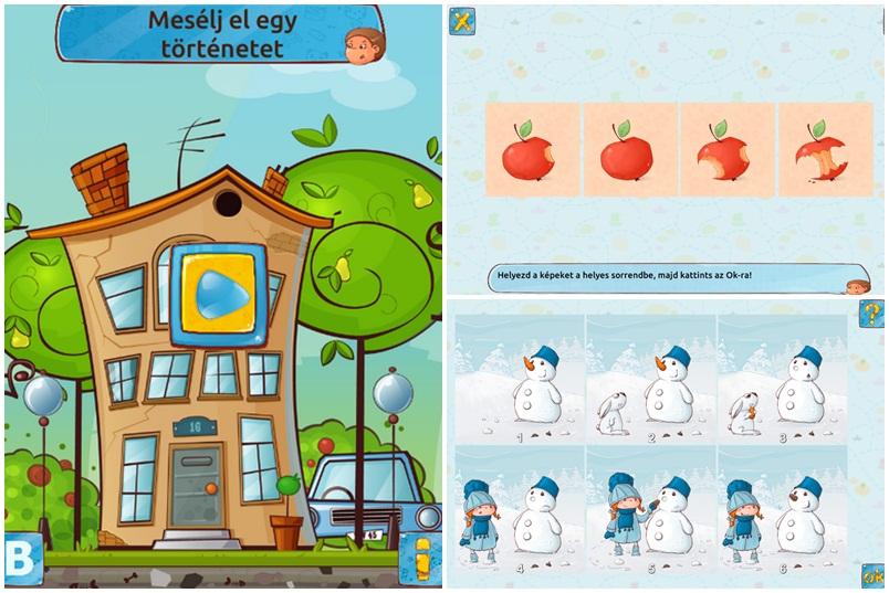gyerek applikáció
