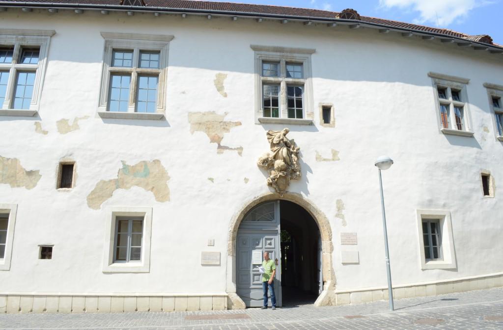 zsolnay múzeum, külső1