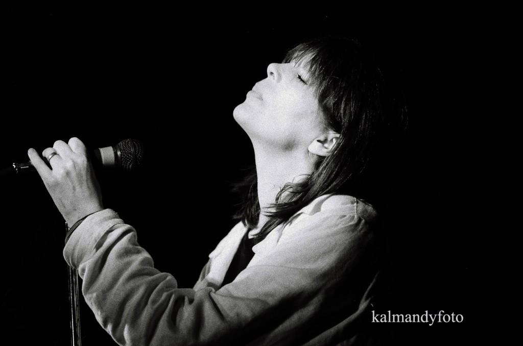 Nico, a The Velvet Underground énekesnője is fellépett a városban - Kálmándy Ferenc fotója