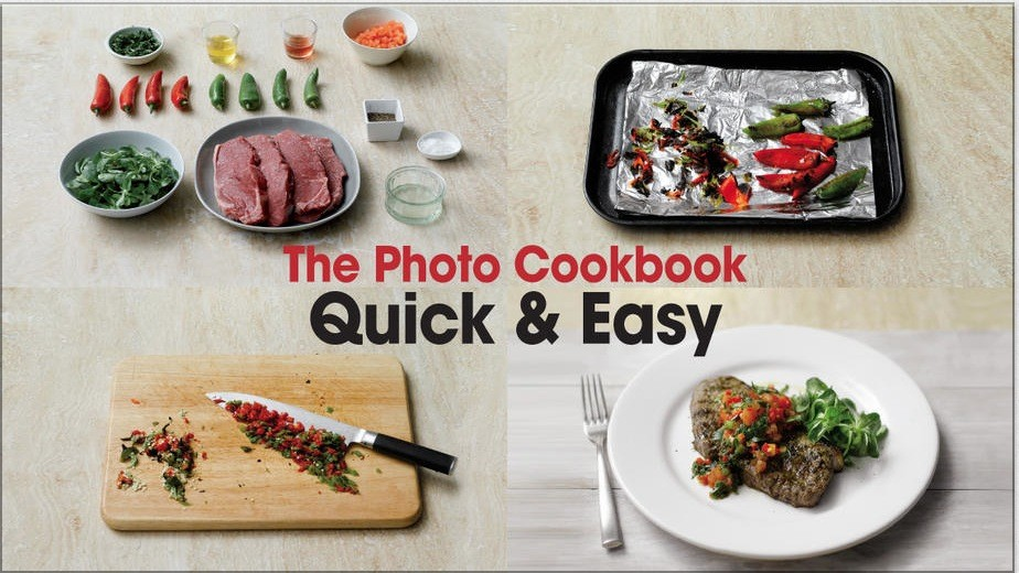 Photo cookbook