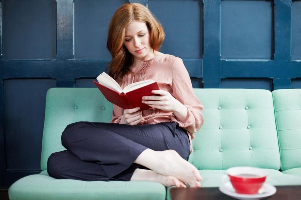 olvasás, nő