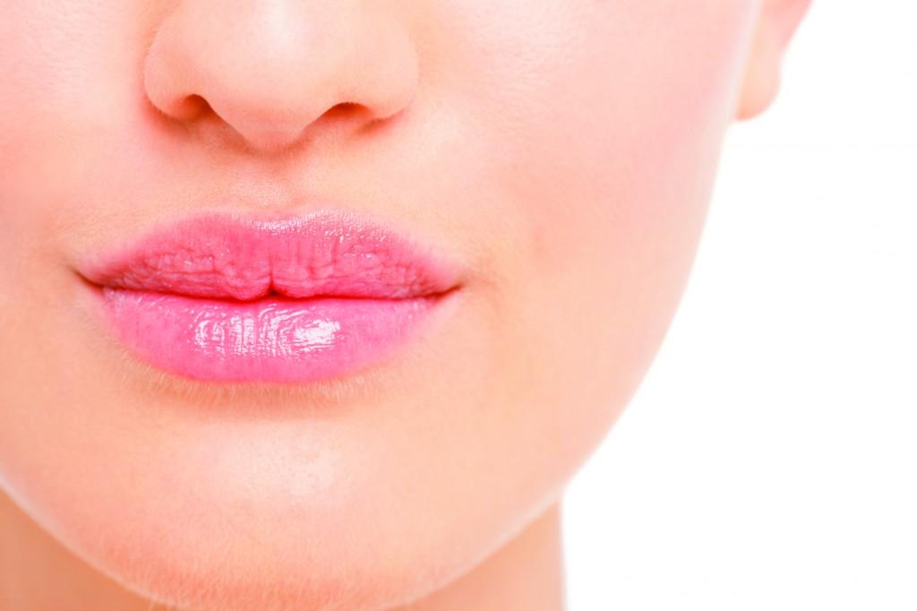 telt ajkak, száj, rúzs, smink
