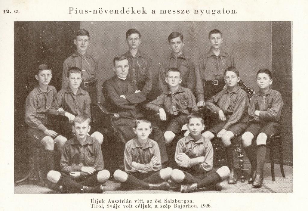 Pius gimnázium, diákok