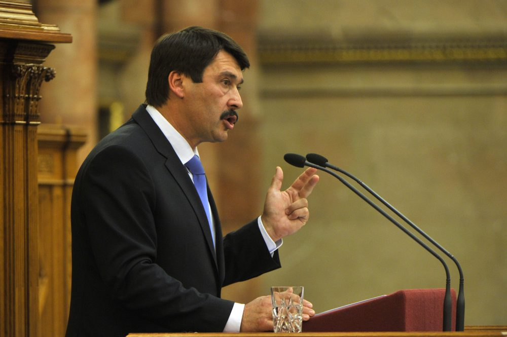 Áder János, köztársasági elnök
