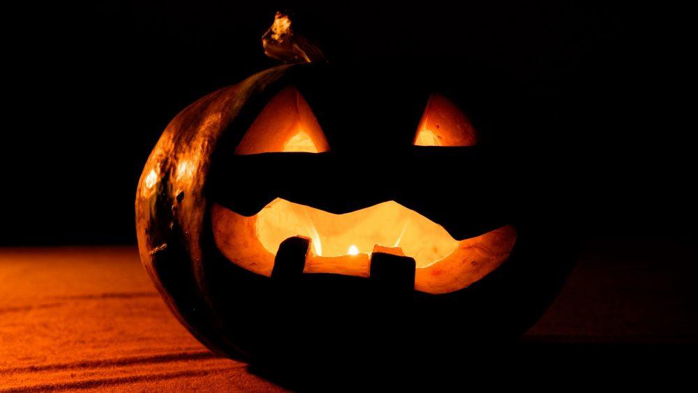 Halloween, tök, lámpás