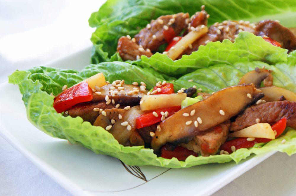 Szendvics, saláta, levél, egészséges, zöldség