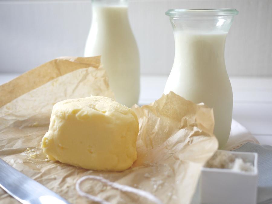 Vaj, margarin, tej