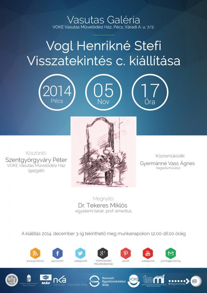 Vogl Henrikné Stefi - Visszatekintés 2014.11.05