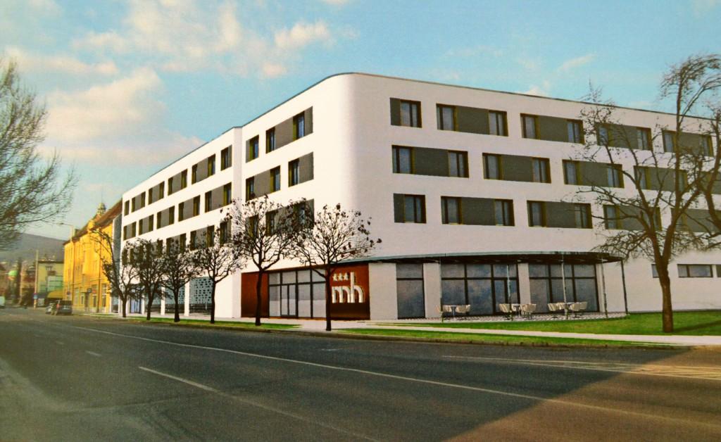A jövőre elkészülő hotel valahogy így fog kinézni