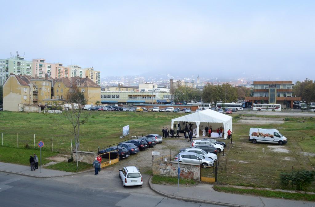 A hotel a Rák helyén épül