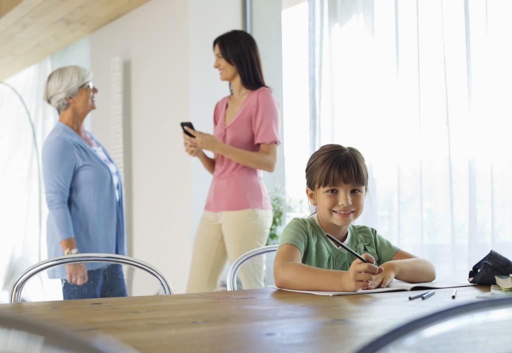 család, gyerek, együttélés, nyugdíjas