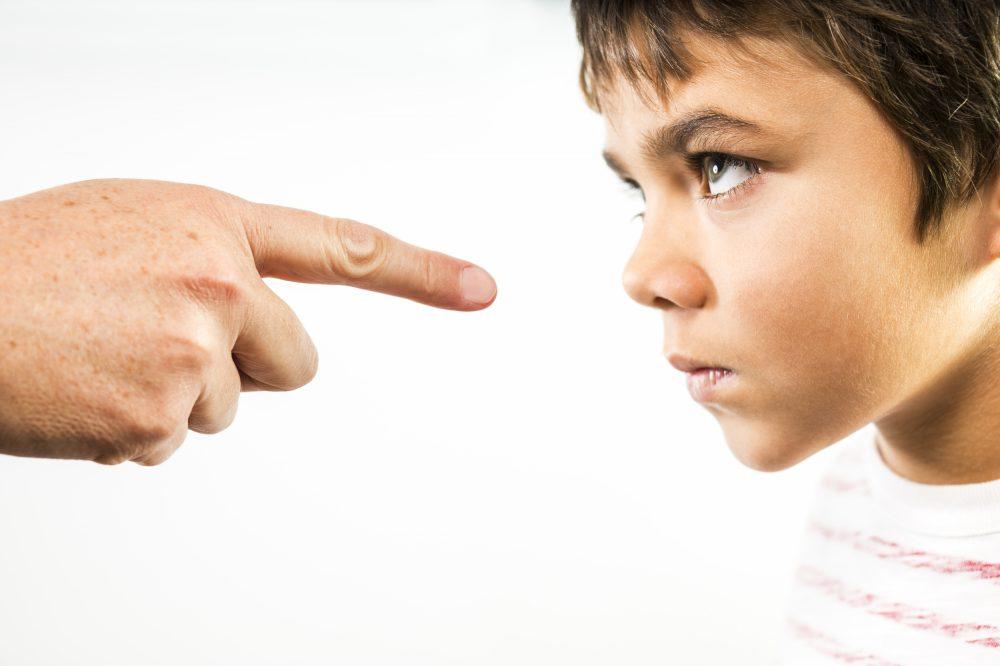Fegyelmezés, szülő, gyerek