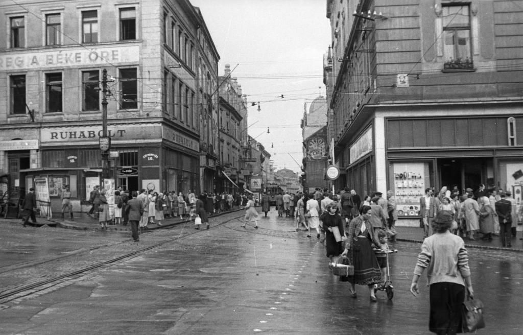 király utca fortepan