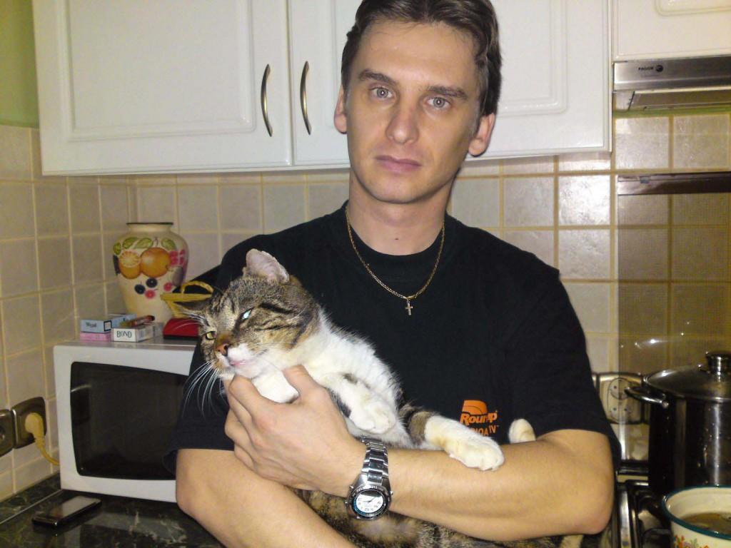 sztarek laszlo cicaval