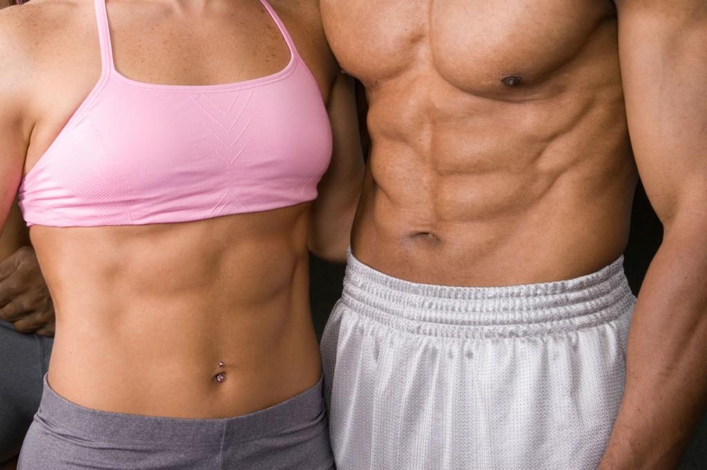 sport, izom, plank, edzés