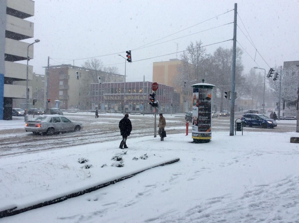 havazás, hó, 6-os út