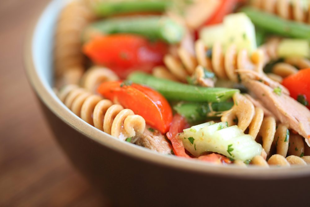 Einkorn Fusilli Tuna Salad
